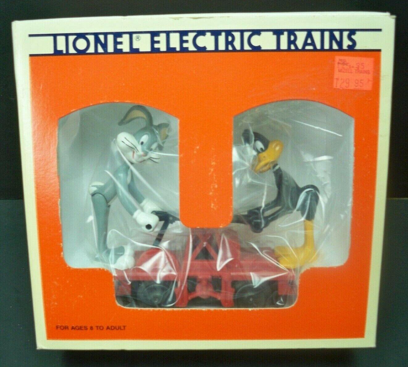 Vintage LIONEL Train Bugs Bunny e Daffy Duck He auto 618416 NOS nuovo in scatola
