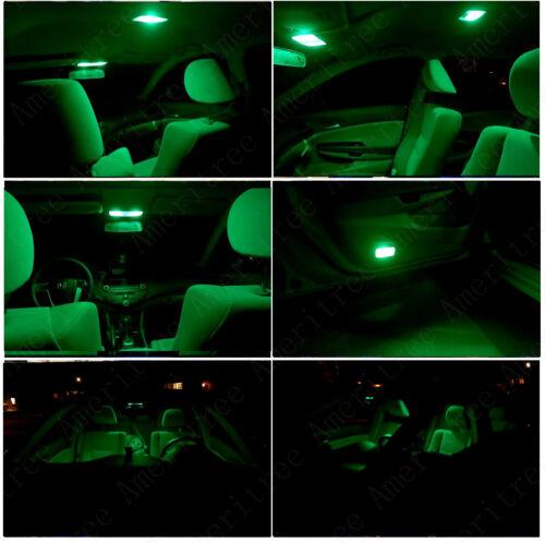 Green License Light LED For Honda Element 2003-2008 Green LED Interior Kit