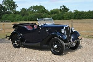 Image Is Loading Morris 8 Two Seat Tourer Vintage Classic Car