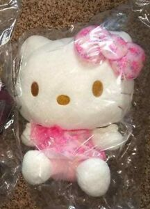 Details about Hello Kitty in in Pink Dress Plush 10-11