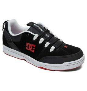 innovative design 21eac 574e5 Details about Tg 42 - Scarpe Uomo Skate DC Shoes Syntax Black Grey Red  Sneakers Schuhe 2019