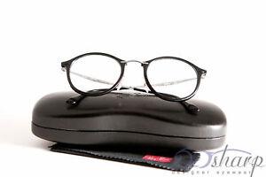 fb12968262 Image is loading Ray-Ban-Eyeglasses-RB-7073-2000-SHINY-BLACK
