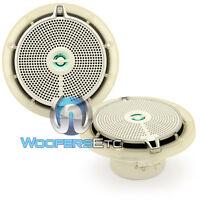 Infinity 652m 6.5 Marine Boat Audio 2-way Waterproof Pei Tweeters Speakers on sale