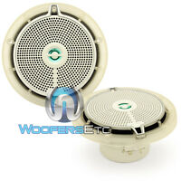 Infinity 652m 6.5 Marine Boat Audio 2-way Waterproof Pei Tweeters Speakers