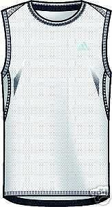 Adidas SUPERNOVA SleeveLess FunktionsShirt Muskelshirt M white 687775