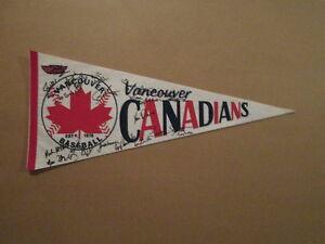 Minor-League-Baseball-Rare-Vancouver-Canadians-Pennant