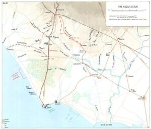 Italy The Allied Landing At Anzio January 1944 The Anzio Sector