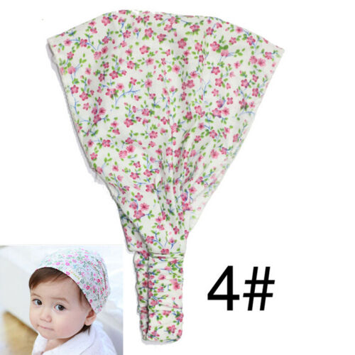 Bright Cute Flower Headband Headscarf Bandana Hat For Baby Girls UK