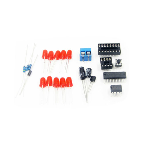 Electronic Lucky Rotary Suite DIY Kits Production Parts And Components ASS
