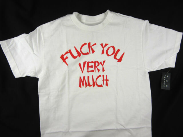 Famous Stars & Straps F*CK YOU very much men's t-shirt Moto-X FMX Skate