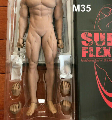 TBLeague PL2018-M35 échelle 1//6 Super-Flexible mâle Musclé SEAMLESS BODY figure