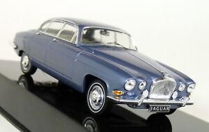 Ixo-1-43-Scale-Jaguar-MK-10-MK-X-1961-Metallic-Blue-Diecast-Model-Car