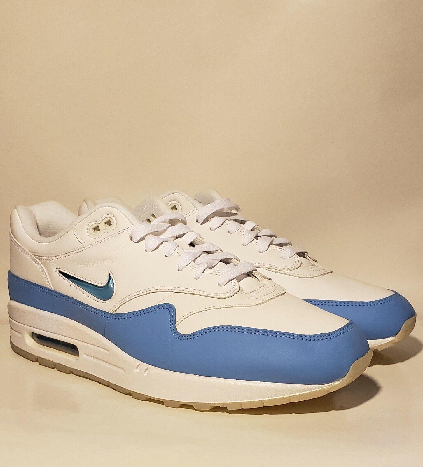 Nike Air Max 1 Premium SC Jewel University Blue 918354 102 US Size 12