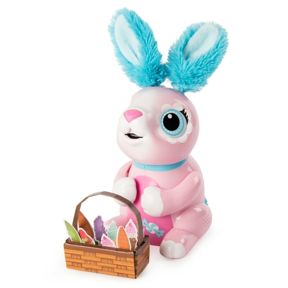 SPIN MASTER ZOOMER HUNGRY BUNNIES  SHrossoDY  a partire da 5 anni 6044085