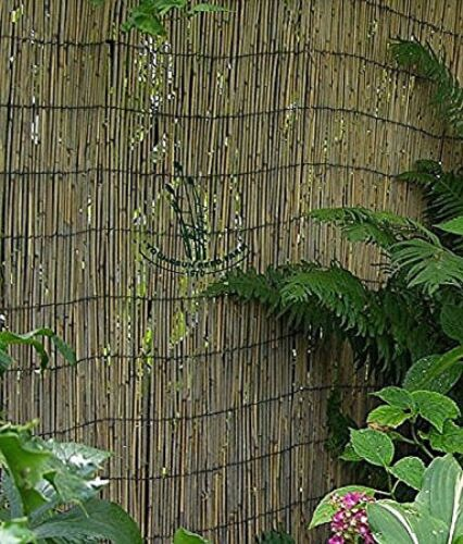 Natural Reed Fence Garden Patio Roll, Tiki Patio Decor