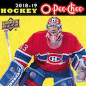 2018-19-O-Pee-Chee-Gold-Border-Glossy-Hockey-Cards-Pick-From-List-1-250
