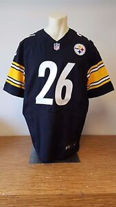 831a424fc Pittsburgh Steelers Nike Elite 26 Le Veon Bell Authentic Home Jersey ...