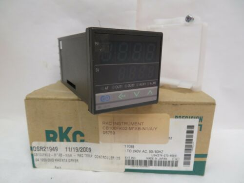 NEW RKC PID DIGITAL TEMPERATURE CONTROLLER CONTROL CB100FK02-M*AB-N1//A//Y RELAY