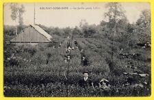cpa Ecrite en 1914 des Tranchées 93 - AULNAY SOUS BOIS Le JARDIN PERDU LILLOIS