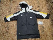 SKI DOO SKIDOO SKI-DOO SNOWMOBILE BLACK WHITE YELLOW SNOW COAT 469179 #2