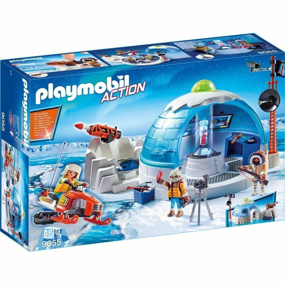 PLAYMOBIL® Action 9055  Polar Ranger Hauptquartier  Polar-Expedition NEU OVP