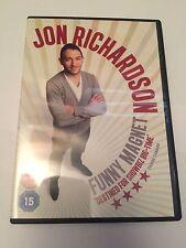 Jon Richardson - Funny Magnet (DVD, 2012), region 2 uk dvd