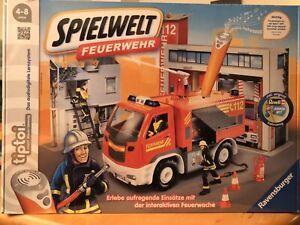 Ravensburger-00824-Tiptoi-Spielwelt-Feuerwehr-Kinderspiel-Neu-und-OVP