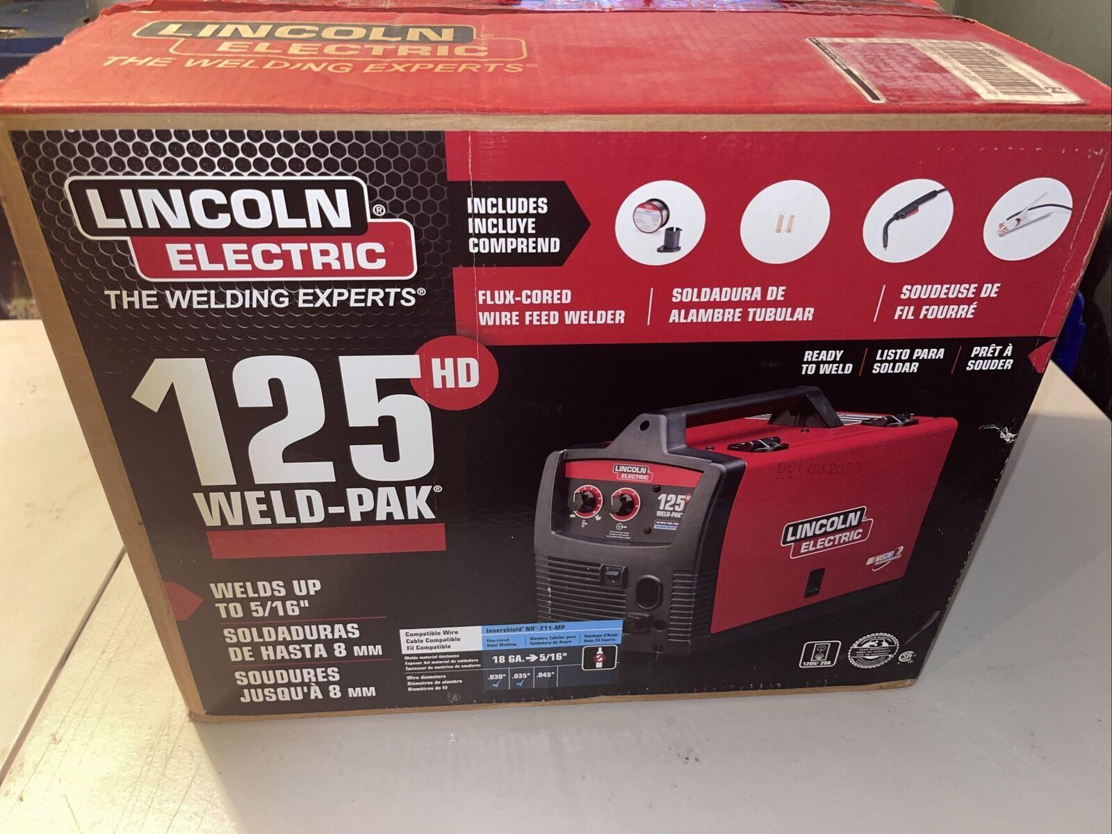 K25131 vickco38 Lincoln Electric 125 Weld-Pak 125 HD Flux-Cored Welder