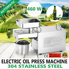 Stainless Steel Automatic Home Small Olive Nut Seed Oil Press Machine Presser