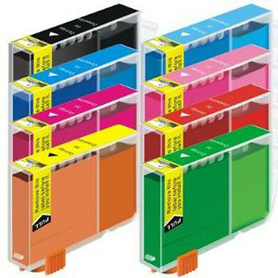 48 Pack New Ink Cartridges w// Red Green CLI-8 For Canon Pixma Pro9000 Mark II