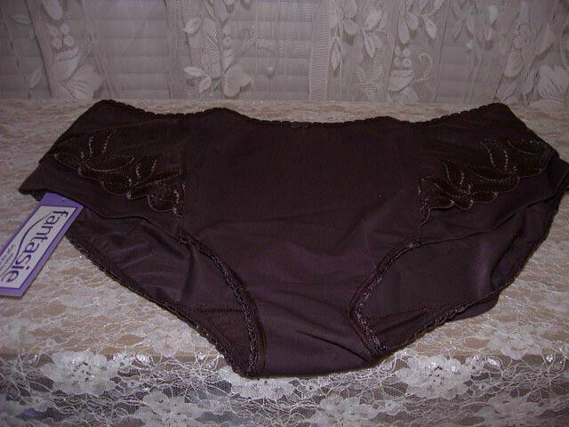 Fantasie Rimini Lot of 2 Shaper Brief Panties XXXL 3X Brown 38% Spandex