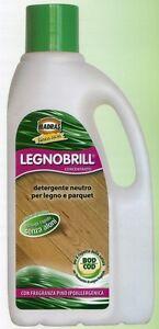 Detergente Per Parquet Legno Legnobrill 1 Lt Madras Profumo Di Pino + Omaggio