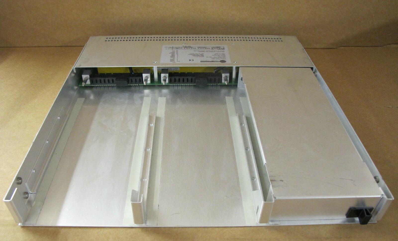 Unipower Unipower Unipower tmfr1u-1017 Chasis fuente de alimentación 001-0143-0009 100 a 240 VAC, 47 a 63 Hz b68a43