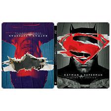 Batman v Superman Dawn of Justice Best Buy Exclusive Steelbook Blu-ray NEW!!