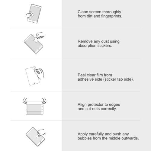 Para Huawei Honor 8 Protector de Pantalla de Vidrio Templado-claro como el cristal