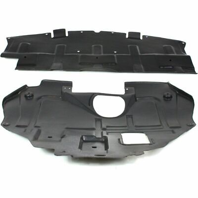 Engine Splash Shield Set of 2 compatible with 2000-2001 Mazda Mazda MPV Under Cover Right and Left Side