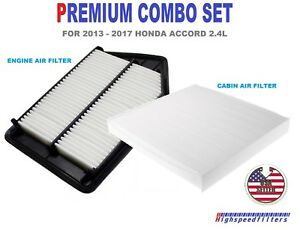 Details About Af6282 C35519 Combo Air Filter Cabin For 2017 Honda Accord 2 4l
