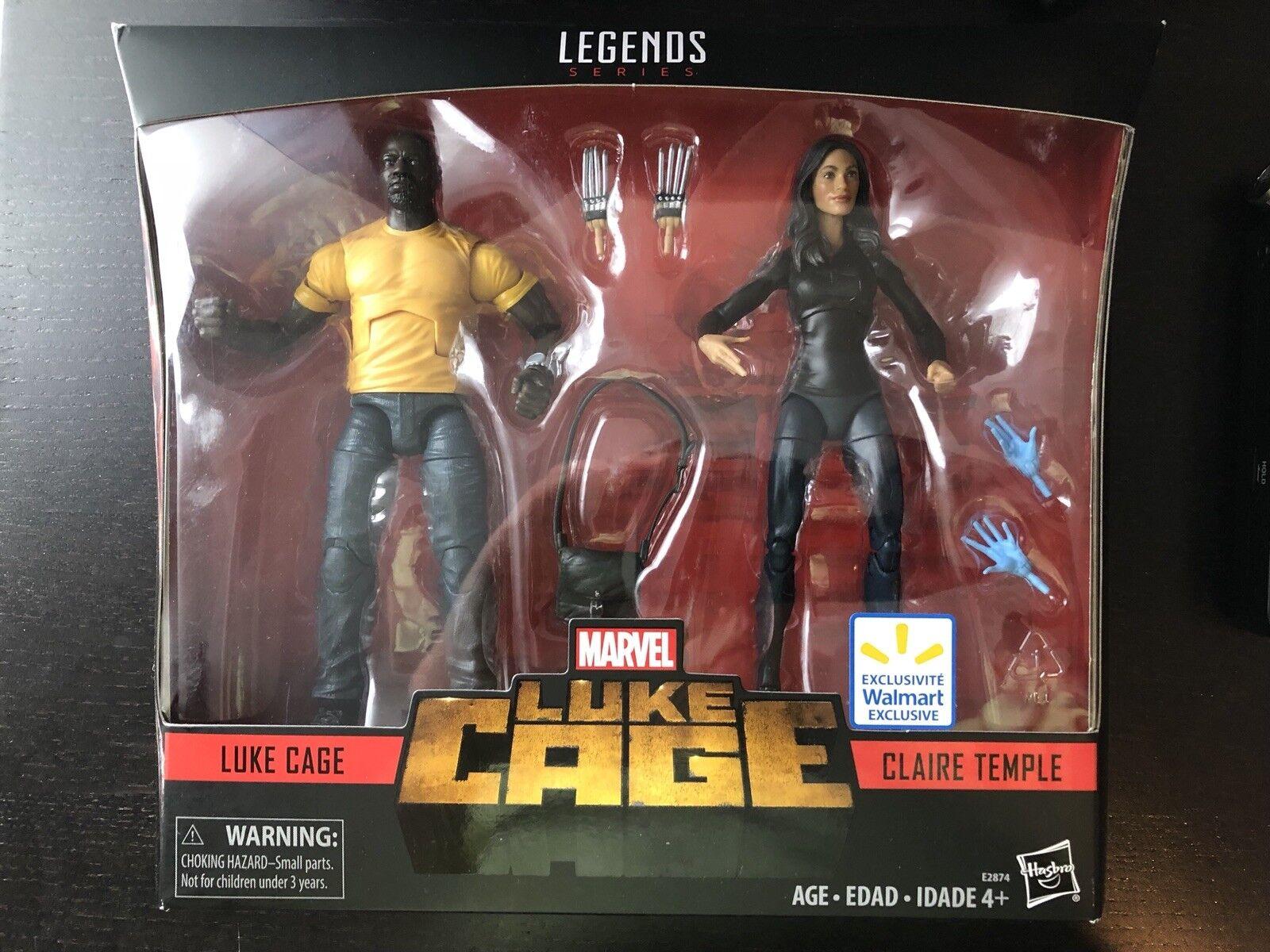 Marvel - legenden luke cage claire tempel walmart exklusiv