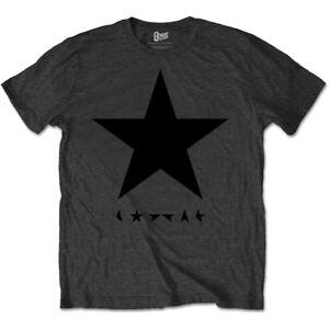 Pequeno-Gris-Carbon-Para-Hombres-David-Bowie-Blackstar-T-SHIRT-CAMISETA-Rock-Oficial