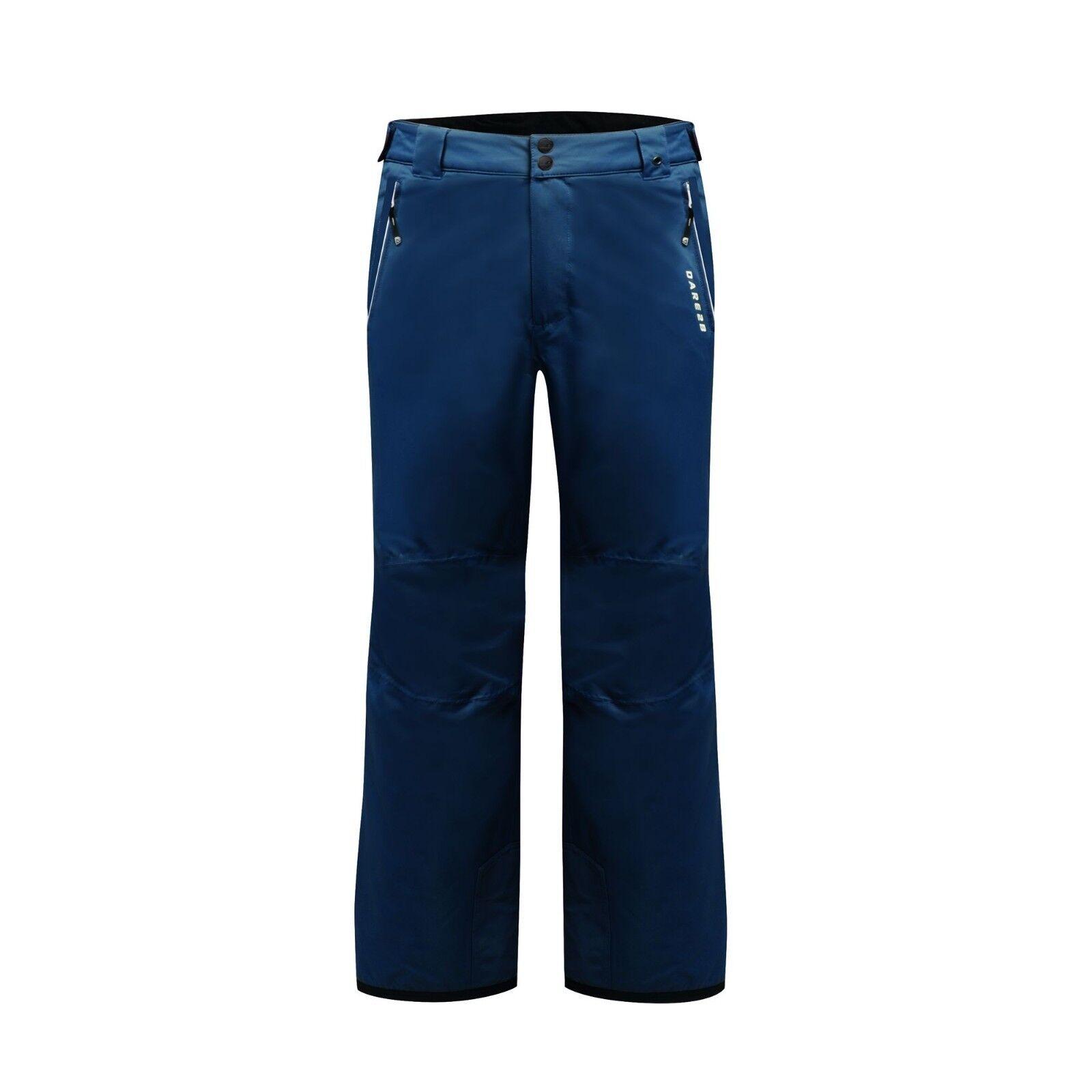DARE 2B MENS KEEP UP II SKI SALOPETTES PANTS 5000R ADMIRAL blueE SHORT LEG