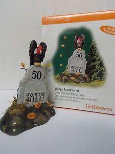 dept 56 53065 tombstone set 6 Halloween village Xmas decor new