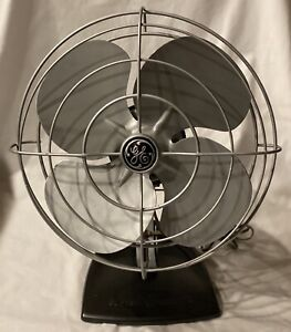 1950-s-Vintage-General-Electric-Fan-Works-Great