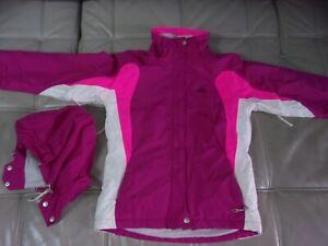design de qualité 74420 fe803 Détails sur Blouson veste ski TRESPASS fille 14/16 ans femme taille XS  qualité+ gants reebok