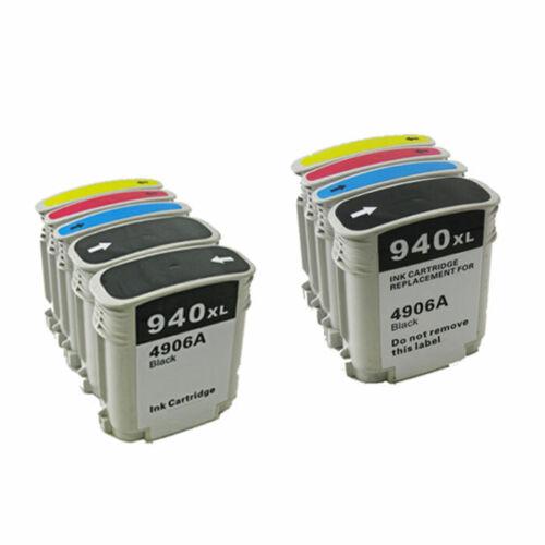 9PK 940XL Ink Cartridge Officejet 8500 Set w// CHIP FREE SHIPPING!