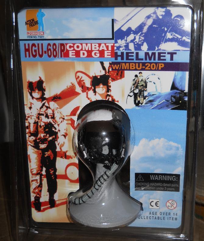 1 6 Dragon HGU-55 e e e HGU-68P Combat Edge US Combatiente Pilot Helmet LOT of 4 MOC aba3d9
