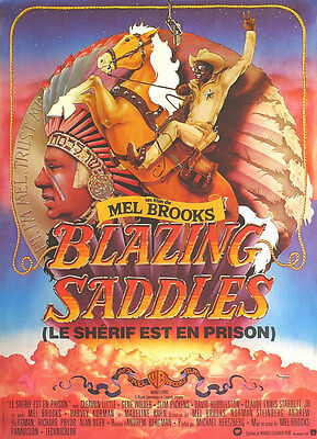 A4 Sizes A3 Blazing Saddles Vintage Movie Poster A2 A1
