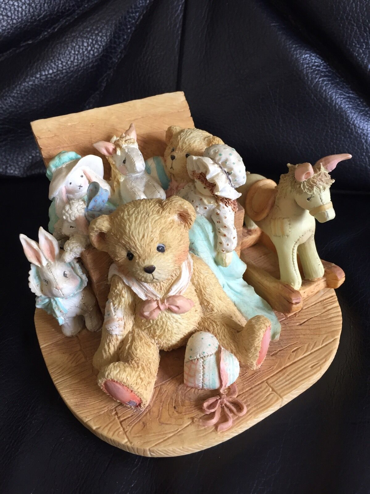 Cherished Teddies Old Friends Are The Best Friends Friends Friends 'Christopher' Musical Figure 24a823