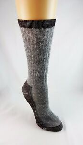 Boot Socks Merino Wool Blend Ladies Size 9-11 Gray Clear Creek