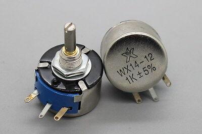 2 x Full Size Dual Gang 4.7K Ohm 2W 2Watt Audio Linear Carbon Potentiometer Pot