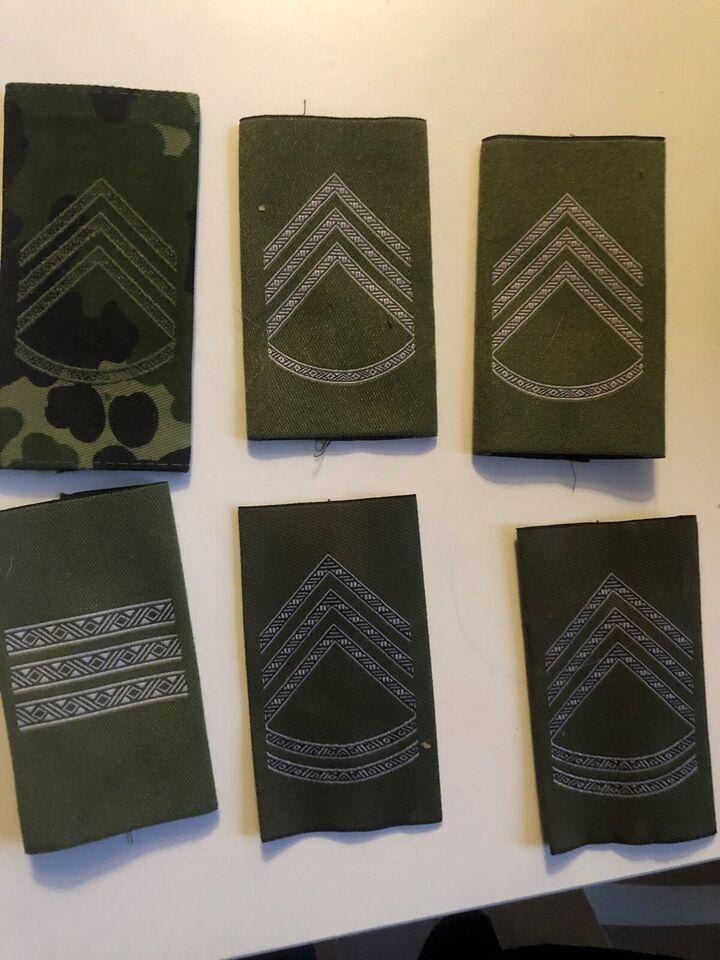Militær, Blandet militær mærker